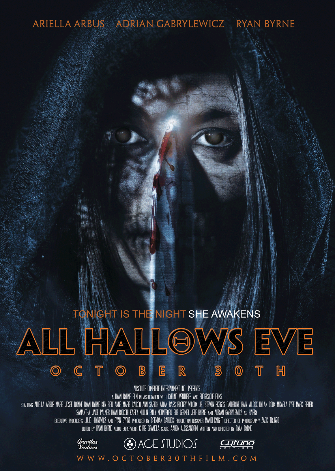 Official All Hallows Eve Poster